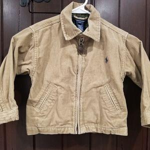 Polo Ralph Lauren Boys 2T Jacket Coat Corduroy